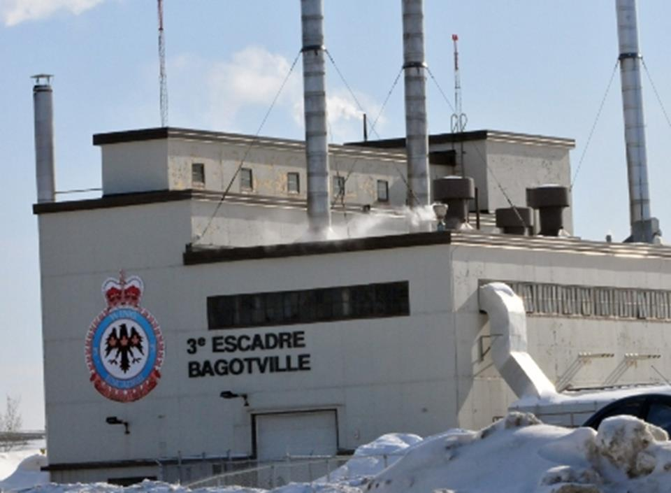 CDC Rationalisation de l'infrastructure du TGEM, 3e Escadre Bagotville