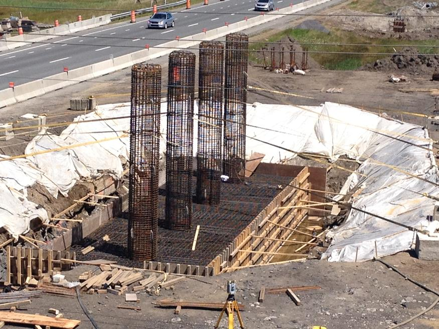 Exchanger on Highway 20 and 30 in Boucherville | Armatures